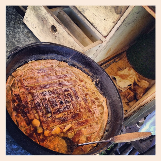 48 best images about cast iron chuckwagon cooking on for Cast iron skillet camping dessert recipes