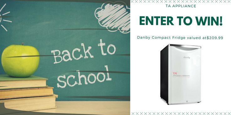 Enter to Win a Danby Compact Fridge. Fast & easy to enter...