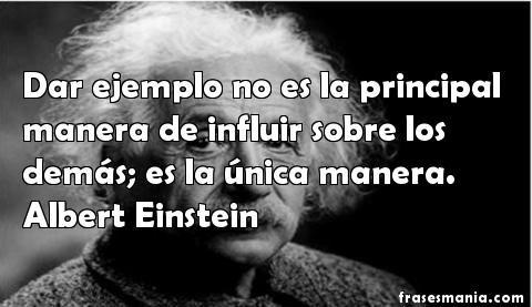 Citas celebres de Albert Einstein