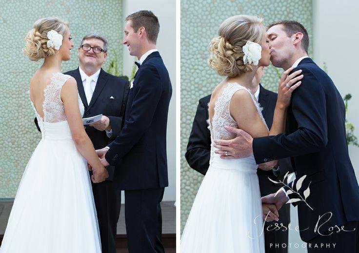 Jemimah & Christopher @ Jessie Rose Photography #sydneywedding #weddingphotography #kiss #bride #groom