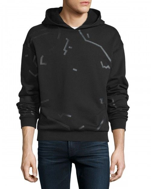 Alexander+Wang+Shadow+Outline+Long+Sleeve+Hoodie+Matrix+48+|+Top,+Sweatshirt+and+Clothing