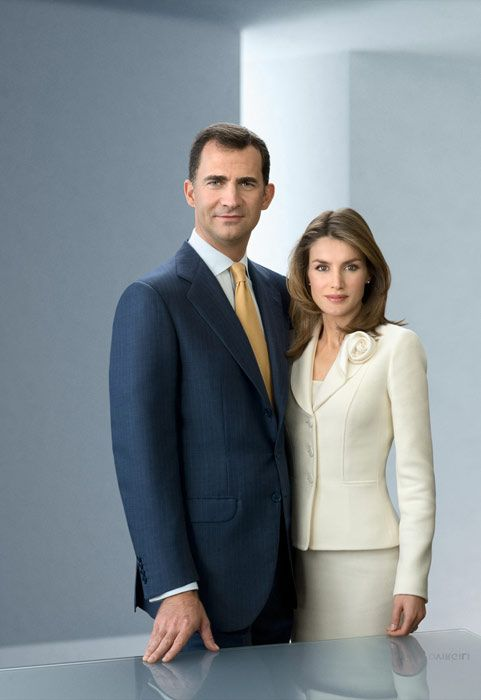 Prince Felipe and Princess Letizia of Spain and Asturias