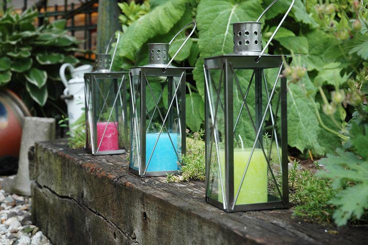 Esschert Design WL13 Stainless steel lantern 25cm