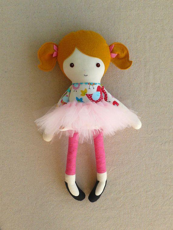 Fabric Doll Rag Doll by rovingovine