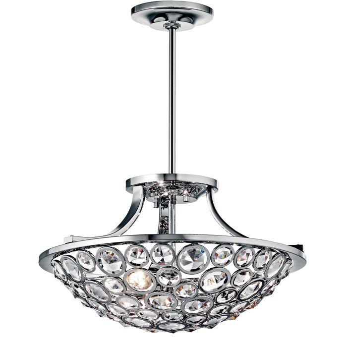 Louie lighting kichler lighting 42669ch semi flush 3 light chrome 640 00 http