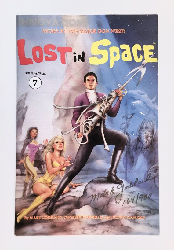 Lost in Space Comic Book Signed Numbered in Gold TV Show