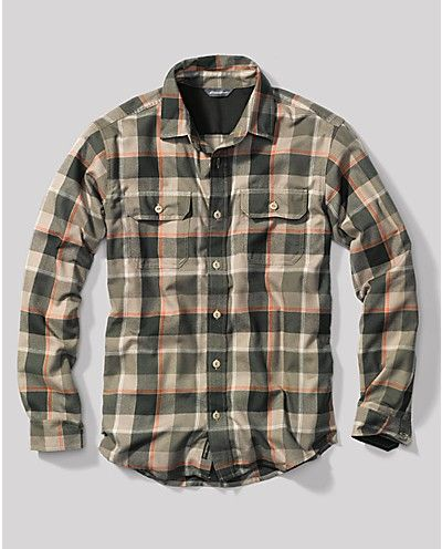 Travex® Expedition Flannel Shirt   First Ascent