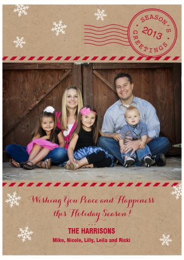18 best christmas card options images on pinterest christmas cards items similar to gold bordered happy holidays photo greeting carddiy customized printable on etsy m4hsunfo