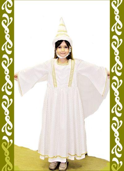 kostým bílá paní, půjčovna Ladana
