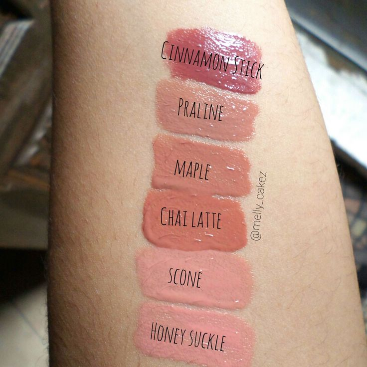 bh cosmetics lip gloss swatches