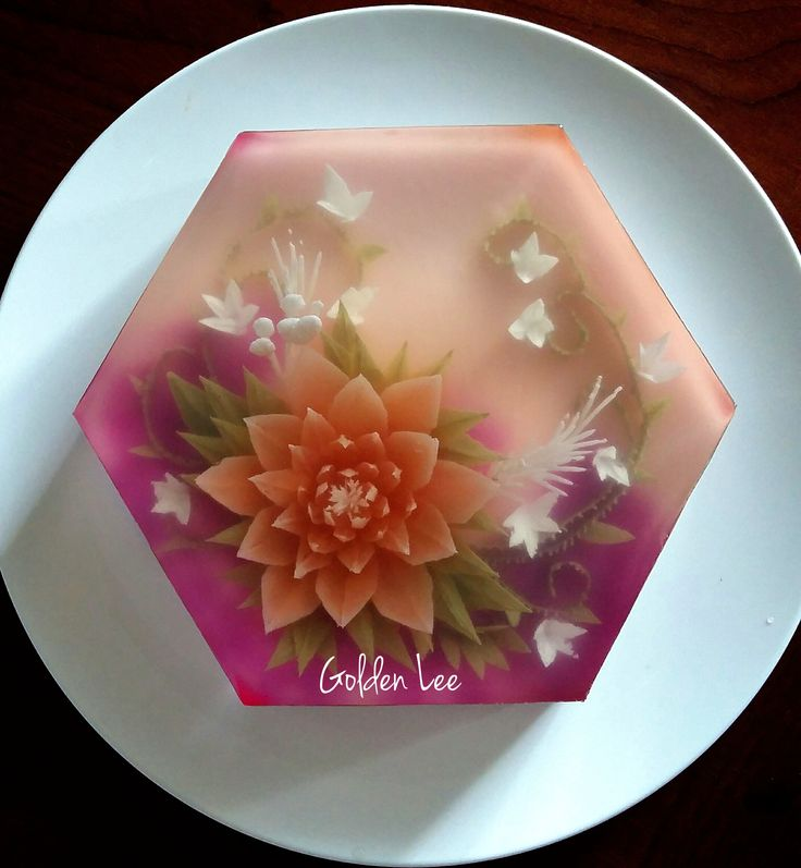 Love this colors. 3D jelly cakes Pinterest Colors ...