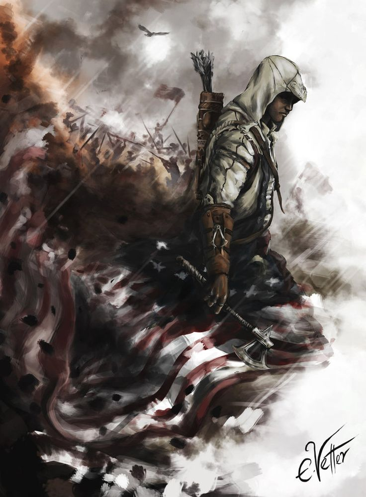ACIII: Connor Kenway - by Psycuror   Favorite games on PC ...