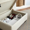Storage Ottoman for game accessories