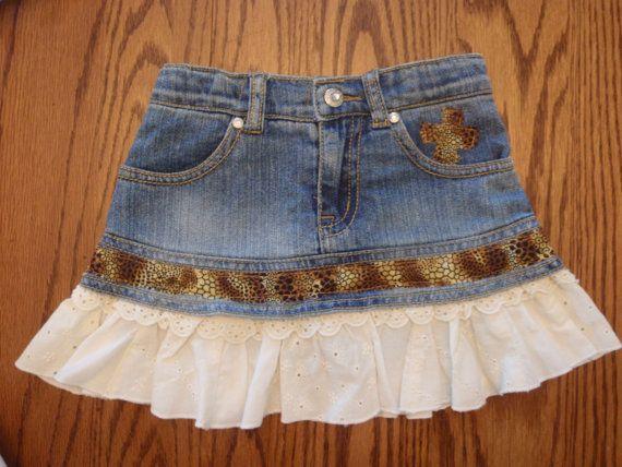 Denim Skirt, TODDLER  (4T) So cute