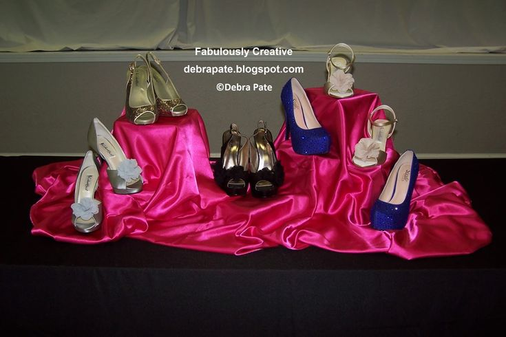 SHOE THEMED PARTY - WHAT KIND OF SHOE ARE YOU? Women's Ministry, Ladies Event, centerpiece for food tables