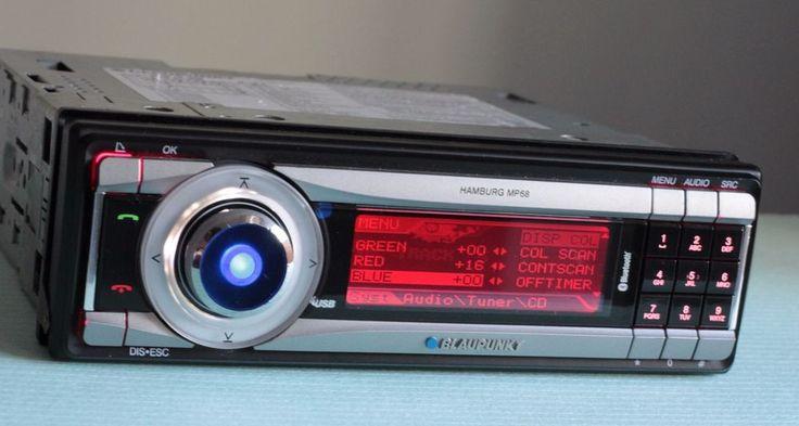 Blaupunkt Hamburg MP68 Radio CD MP3 USB Bluetooth Player Headunit #Blaupunkt