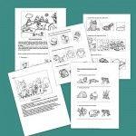 Cuentos breves y fichas para ejercitar la comprensión de textos. primero primaria