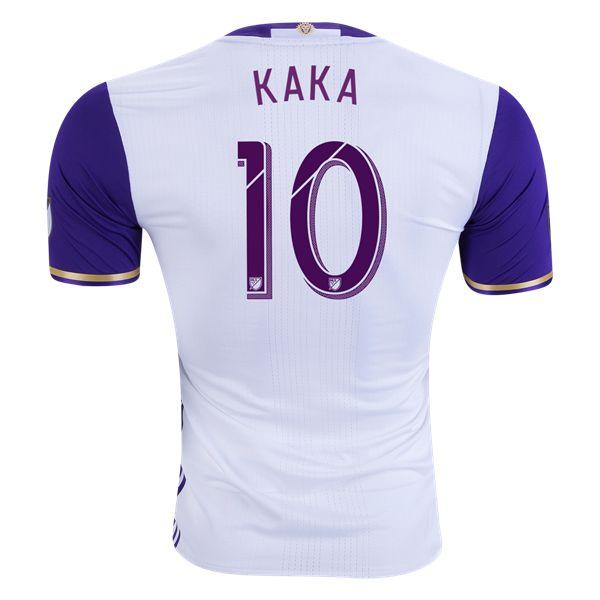 Orlando City SC 2016 KAKA Authentic Away Soccer Jersey