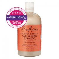 Sheamoisture Coconut Hibiscus Curl Shine Shampoo 13 Oz