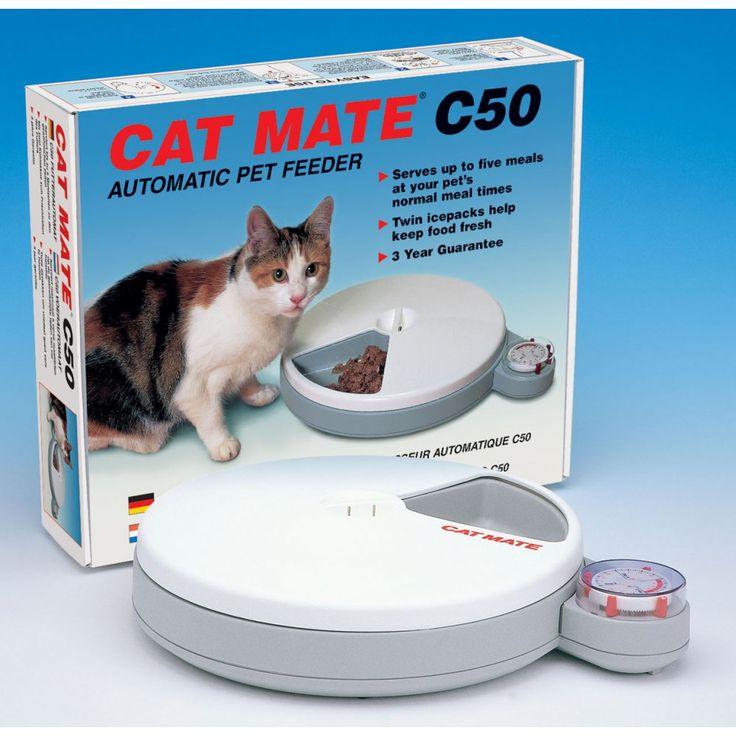 Mangiatoia funzionante a batterie che eroga 5 pasti nell'arco di 120 ore. Per cani o gatti. | zeicinofilia.it