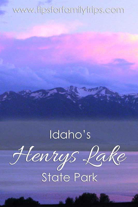 4 fun reasons to visit Henrys Lake State Park in Idaho | tipsforfamilytrips.com | Island Park | Yellowstone National Park | fishing | outdoors | family reunion | summer vacation