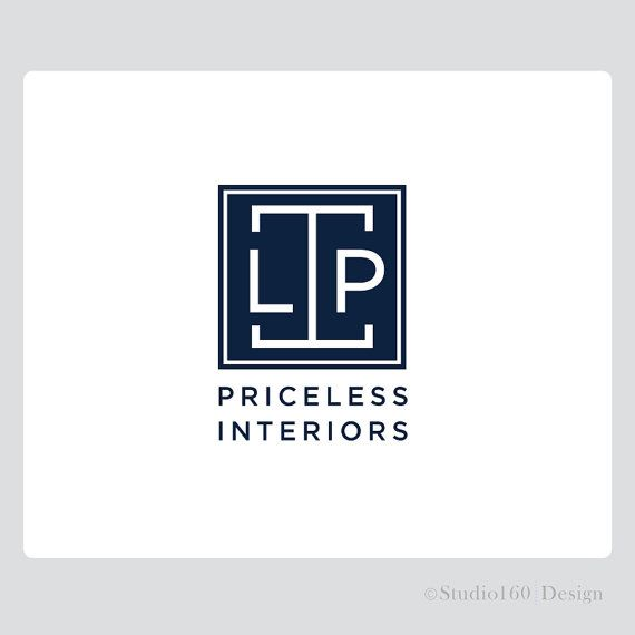 Custom Interior Design Logo Professional Branding Package