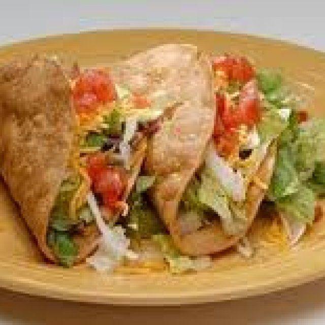 Tacos de Carne Dorados