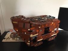 Lego Star Wars 10144 Sandcrawler 100% complete NO MINI Figures