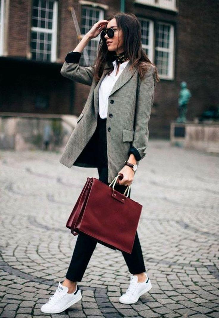 44 Die besten grauen Winter Outfit Ideen, um warm zu bleiben