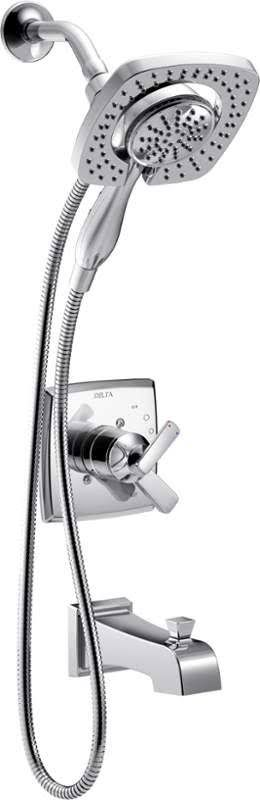 Ordered Oct 27th  Delta T17464-I Ashlyn Monitor 17 Series Dual Function Pressure Balanced Tub and Chrome Faucet Tub and Shower Double Handle