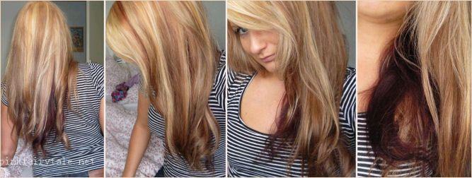 blond haar met bruine meches - Google zoeken