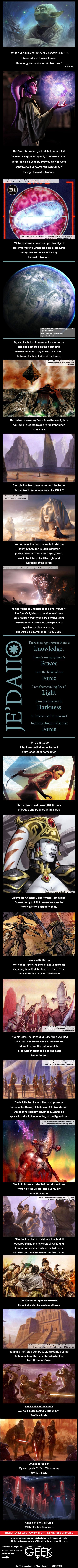 Must admit I've always been wary about that midichlorian fact #Jedi #origins