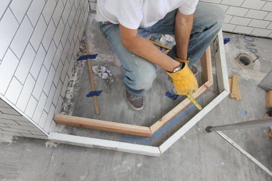Superb How To Build A Custom Tiled Shower Pan | Shower Pan, Tile Shower Pan And  Tile Showers Design Ideas