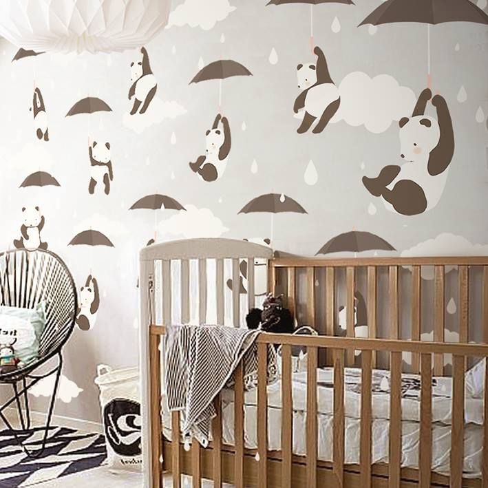 Little Hands Wallpaper - you just need to send us the exact measure of your wall
