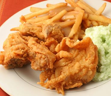 This Texas fried chicken is golden and delicious and once you take your first bite through the crispy crust into the soft and tender chicken...