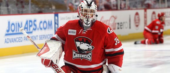 Charlotte Checkers Drew MacIntyre will represent Canada in Switzerland fot the Spengler Cup