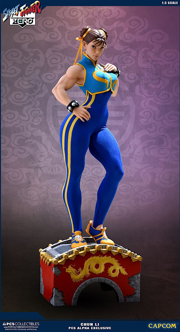 Street Fighter CHUN LI 1:3 Scale Statue From PCS Info & Images - - Action Figures Toys News ToyNewsI.com
