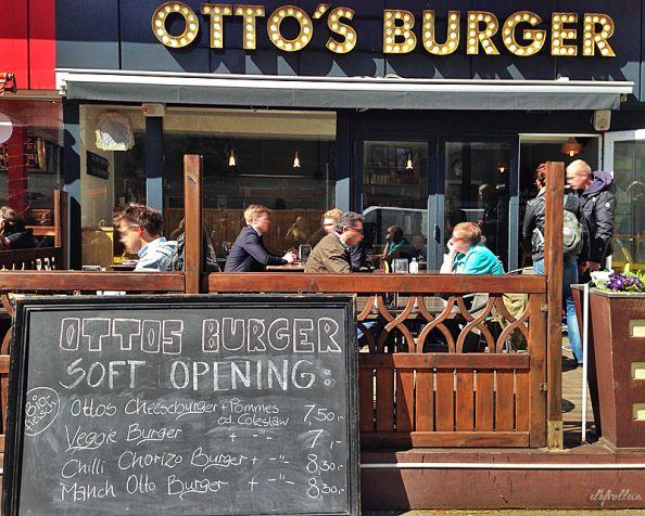 Auf Otto und das Beefsteak: Otto's Burger in St. Georg