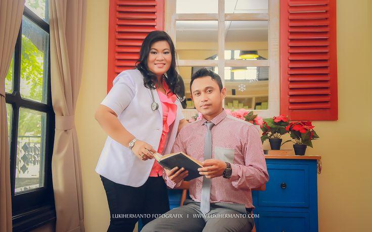 FOTO PREWEDDING DOKTER MEGA + AZIZ