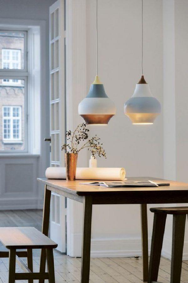 Louis Poulsen's Cirque pendant lamps | Visit contemporarylighting.eu for more inspiring mages