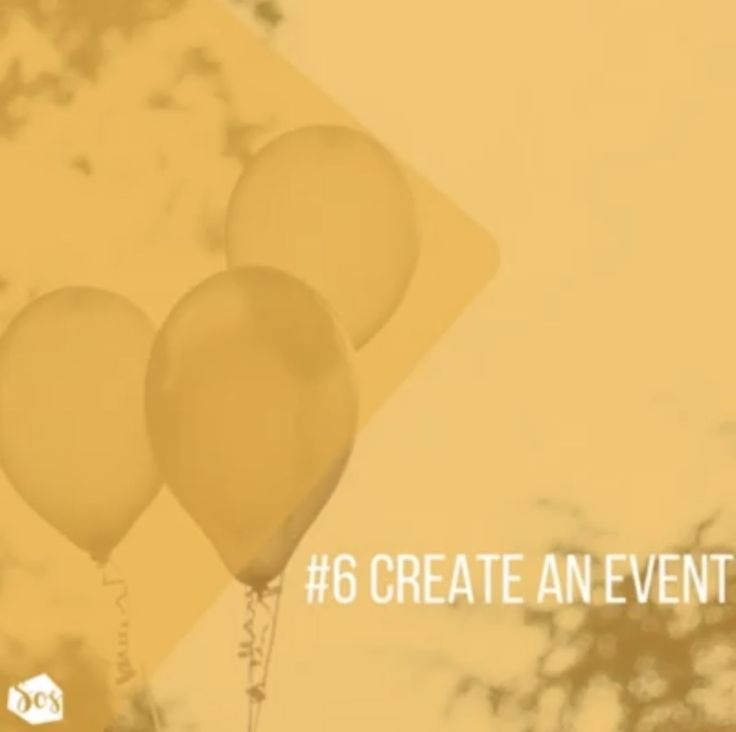 Create an event on your page. Salon owner solutions face book strategies for success