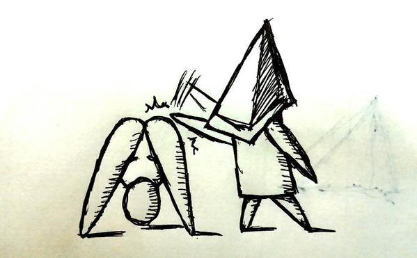 安心してください履いてますよ、とにかく明るい三角ちゃんたち。