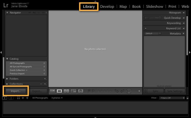 Lightroom setup on computer and mobile devices   Adobe Photoshop Lightroom CC tutorials