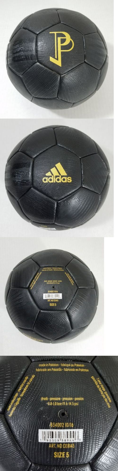 Balls 20863: Adidas X Paul Pogba Limited Soccer Ball Black Gold Manchester United Ce8143 Rare -> BUY IT NOW ONLY: $59.99 on eBay!