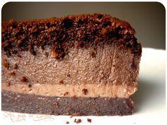 gâteau magique au chocolat ! respecter le temps de cuisson.... sinon la dernière couche disparaît....