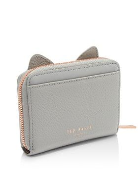 71a491be60de4d Ted Baker - Lohana Cat Whiskers Small Leather Zip Coin Purse   bags ...
