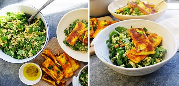WATCH: Healthy halloumi and millet salad | Food24