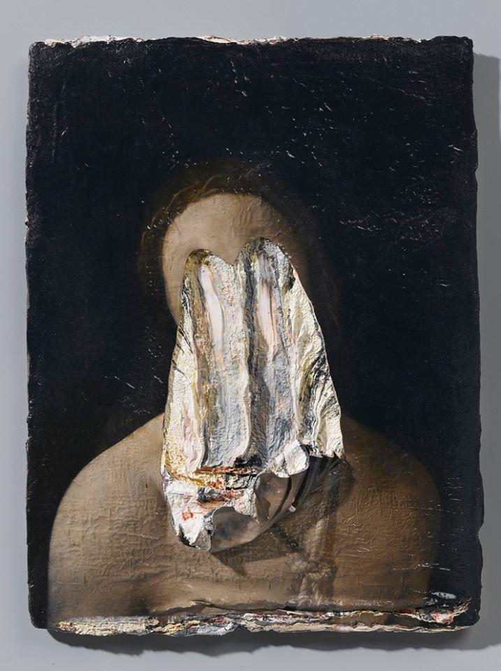 """Nicola Samorì """"About Africans (gli occhi nel petto)"""" 2013"""