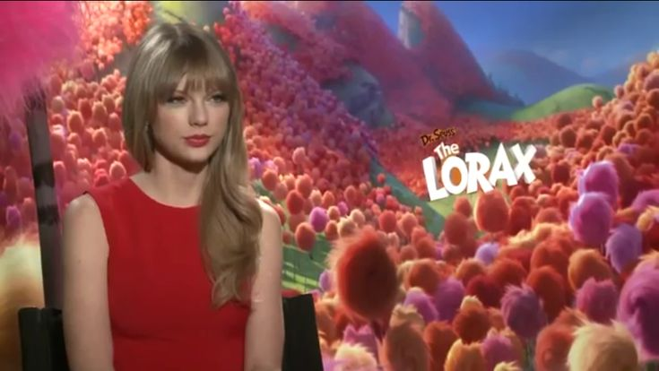 Taylor Swift In The Lorax Interview