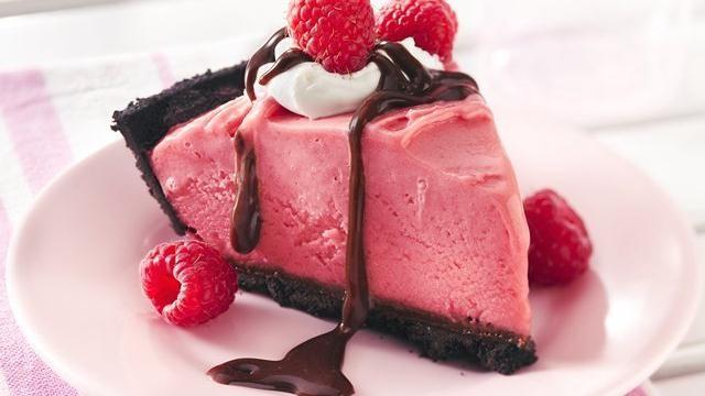 Frozen Chocolate-Raspberry Pie Recipe